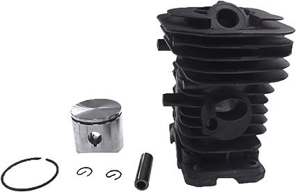 Generisches Motorset Motorzylinder Kolben 40mm Teil Für Husqvarna 41 136 137 142 Kettensäge Garten