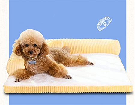 Dinar Luxe Grand Lit Chien Canapé Chien Chat Coussin Gros