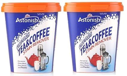 2 x fórmula única OXY-Plus té o café quitamanchas 350 gramos Tub