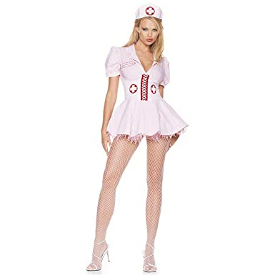 Sexy Halloween Costumes Skimpy Outfits Nurse Costume M Womens U.S. Medium  sc 1 st  Amazon.com : places that sell halloween costumes  - Germanpascual.Com