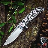 Pocket Elite Spring Assisted Folding Knife Femme Fatale Black Pink Rhinestone Women Girl + free eBook by ProTactical'US