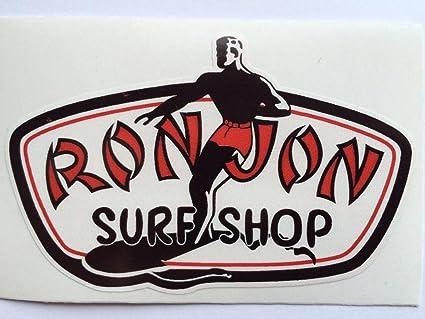 1 Ron Jon Surf Shop Die Cut Decals by SBD Decals: Amazon ...