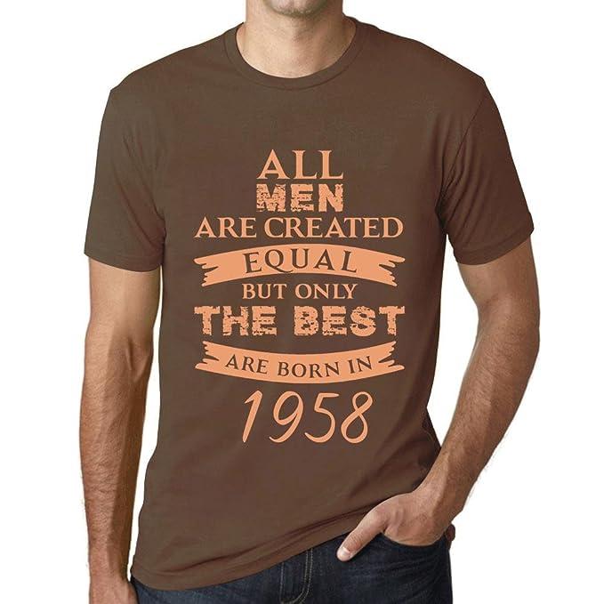 Cityone Terra Maglietta 1958 T Vintage Uomo Tee Born In Shirt tQrdhxBsC