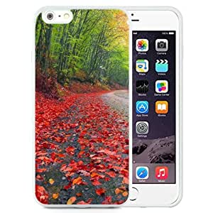 New Beautiful Custom Designed Cover Case For iPhone 6 Plus 5.5 Inch With Rainy Autumn Forest (2) Phone Case