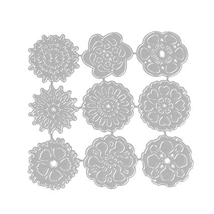 Onever Fustelle Figura Della Farfalla Carte Decorative Bordi