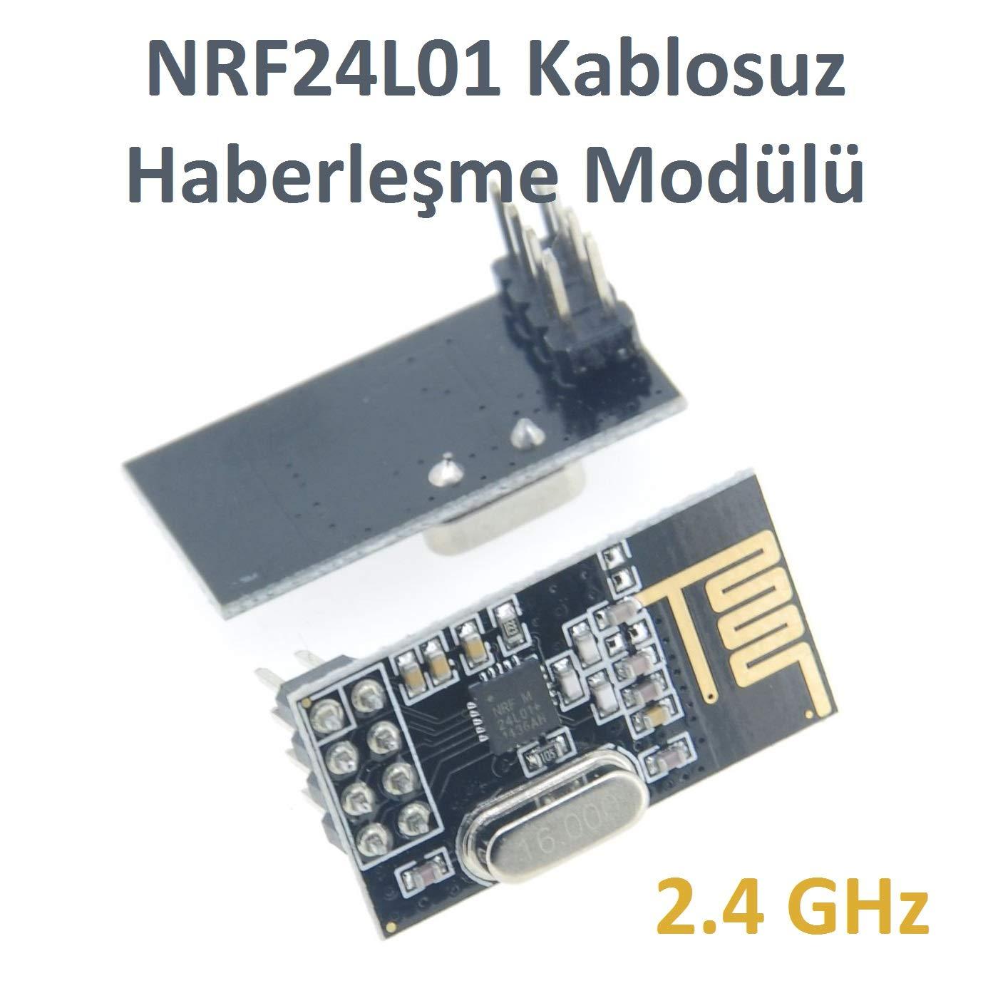 2.4GHz SI24R1 Antenna Wireless Transceiver Module For Arduino 10 pcs NRF24L01
