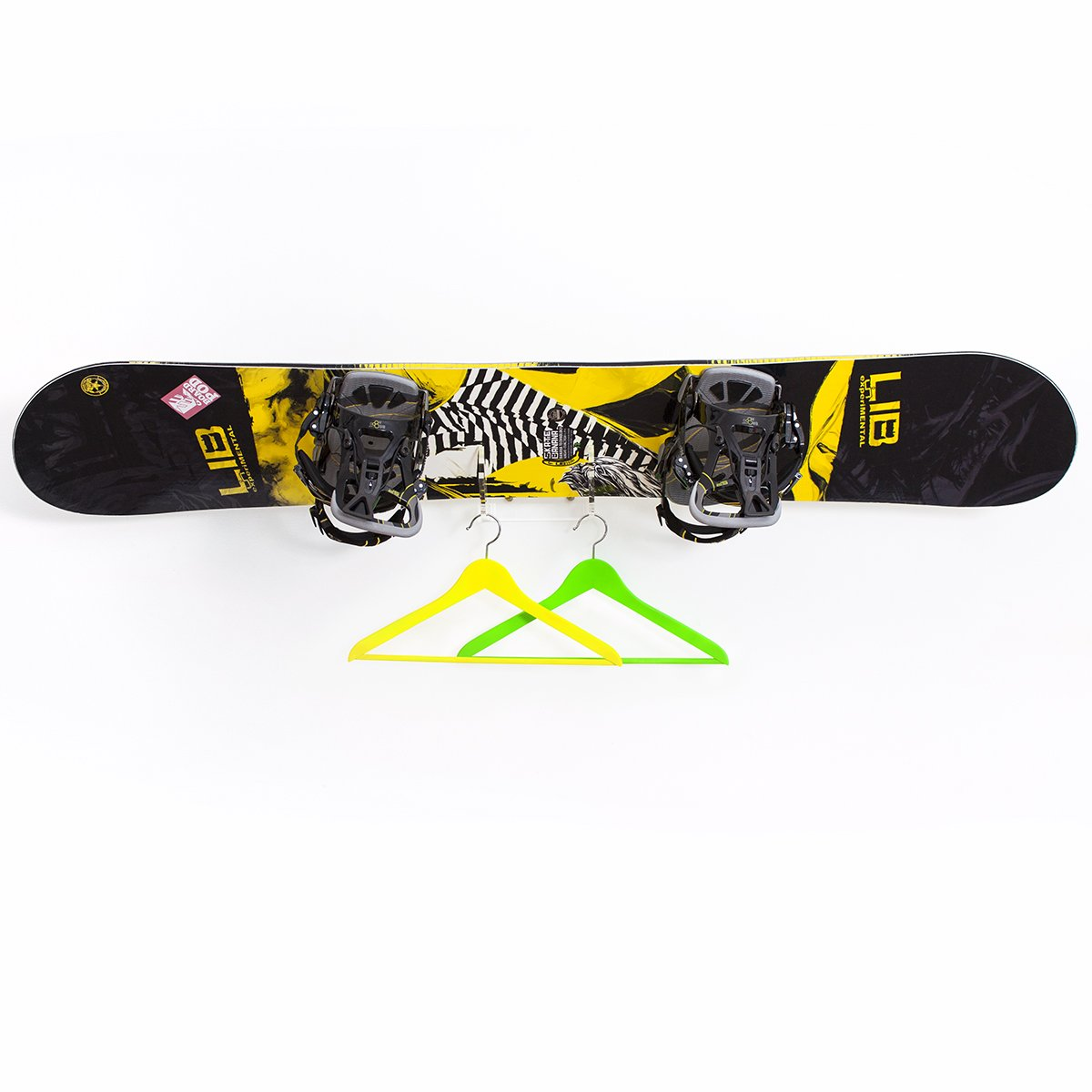 Skateboard Wandhalter f/ür 1 Wakeboard Kiteboard Longboard Wakeskate Skimboard WANDKINGS BOARDPOD One Board Rack Wandhalterung Snowboard