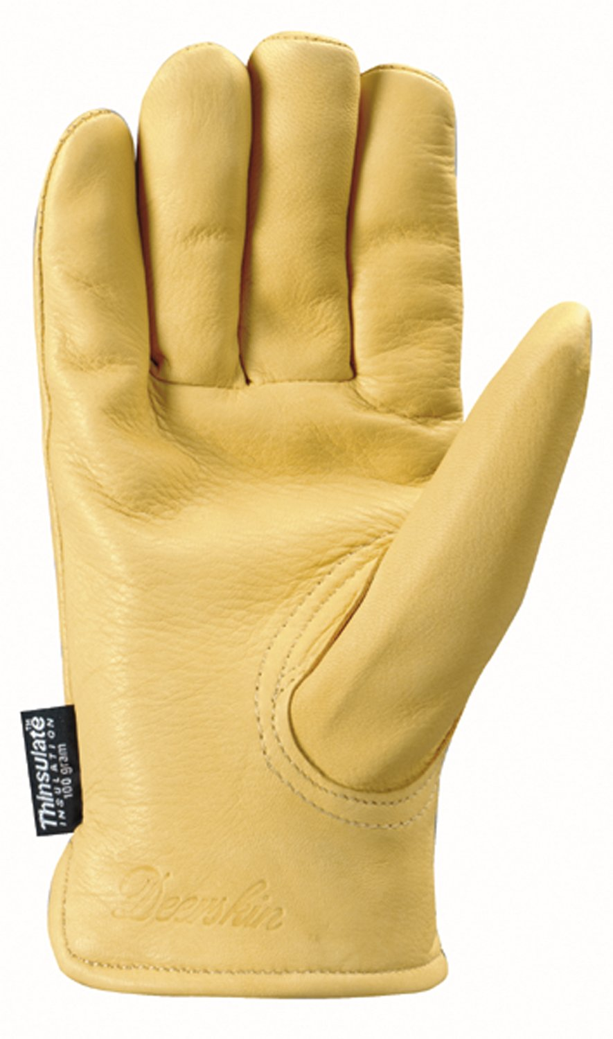 Insulated leather work gloves amazon - Wells Lamont Leather Work Gloves Insulated Grain Deerskin Medium 963m Insulated Work Gloves Amazon Com