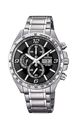 Festina Timeless Chronograph F6861/4 Mens Chronograph Excellent readability