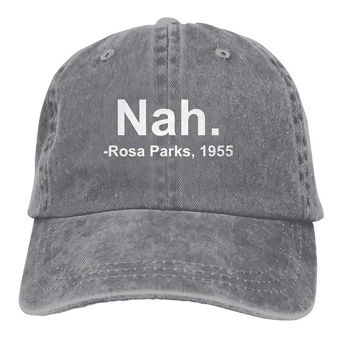 f7067472e QHZM Nah. Rosa Parks, 1955 Vintage Adjustable Jeans Cap Baseball Caps  Forman and Woman