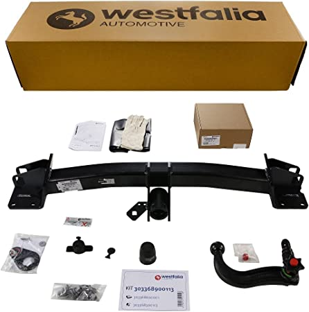 Abnehmbare Westfalia Anhängerkupplung Für X5 F15 Ab Bj 11 2013 X6 F16 Ab Bj 12 2014 Im Set Mit 13 Poligem Fahrzeugspezifischen Westfalia Elektrosatz Auto