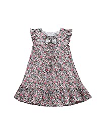 BOBORA Infant Little Girls Printed Floral Flower Dresses/Outfits Set/Skirt
