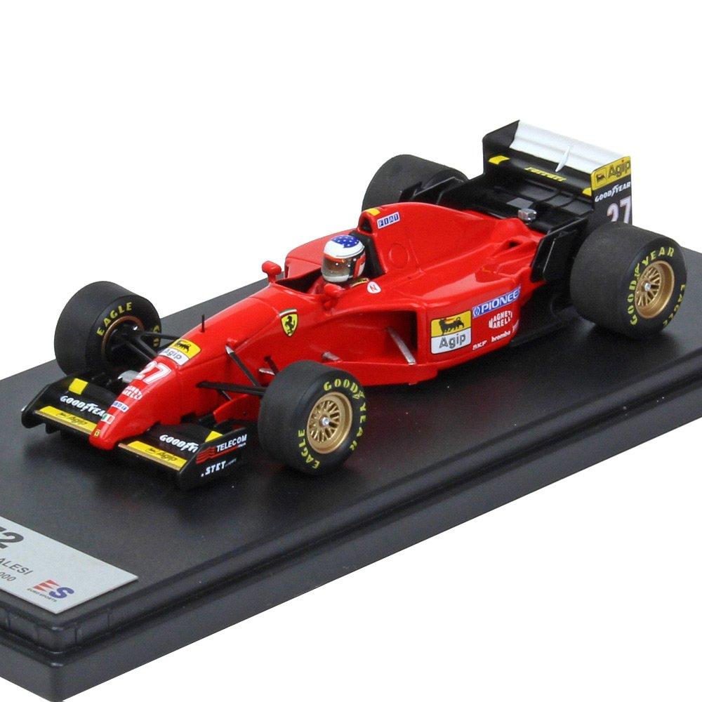 ルックスマート 1/43 フェラーリ 412T2 1995 F1 カナダGP ウィナー #27 J.アレジ