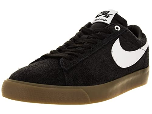 new arrival 53f79 b6536 Nike Men s Blazer Low GT Black White Metallic Gold Skate Shoe 11 Men US