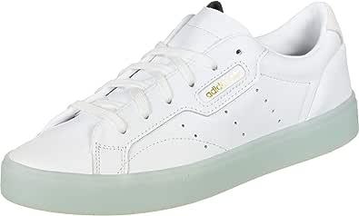 adidas Womens Originals Sleek Trainers Sneakers in Footwear White/ice Mint.