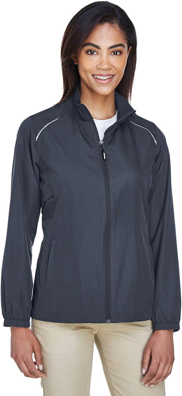 Carbon Core 365 Womens Motivate Unlined Lightweight Jacket X-Large Ash City