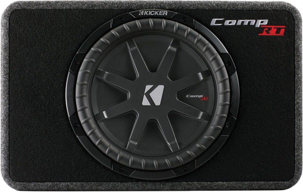 Kicker CompVT TCRT12-30cm Flat Geh/äuse-Subwoofer Impedanz:1x4 Ohm