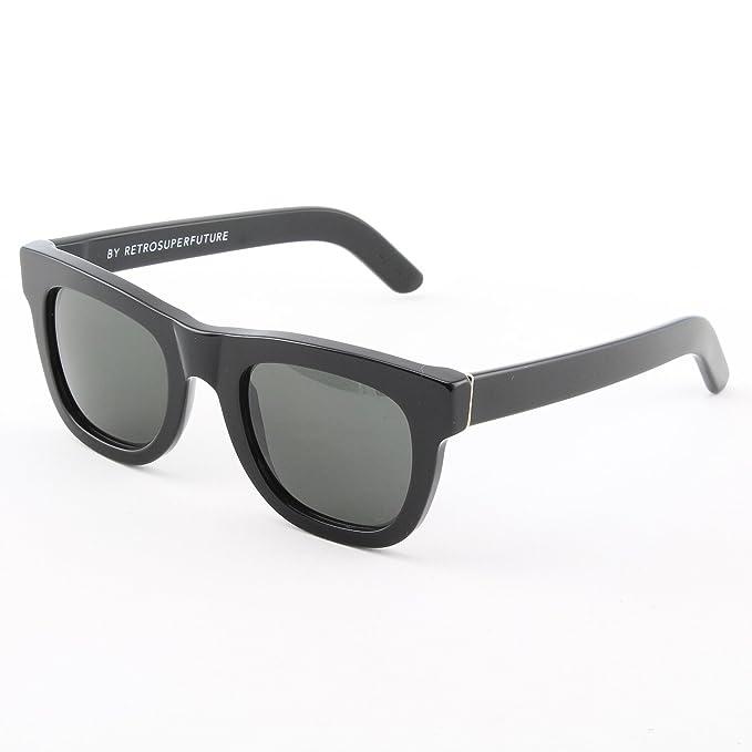 9f31fb855818 Retrosuperfuture Ciccio Black Sunglasses SUPER-457 50mm: Amazon.co.uk:  Clothing