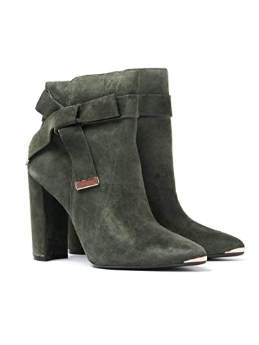 bbe98af7acb Ted Baker Women s Sailly Ankle Boots - Khaki Suede