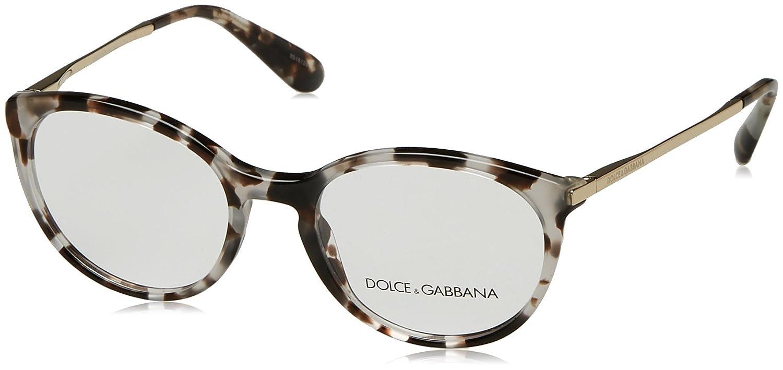 6716cb5389e3 Amazon.com  Dolce Gabbana DG3242 Eyeglass Frames 2888-50 - Cube Havana Fog  DG3242-2888-50  Clothing