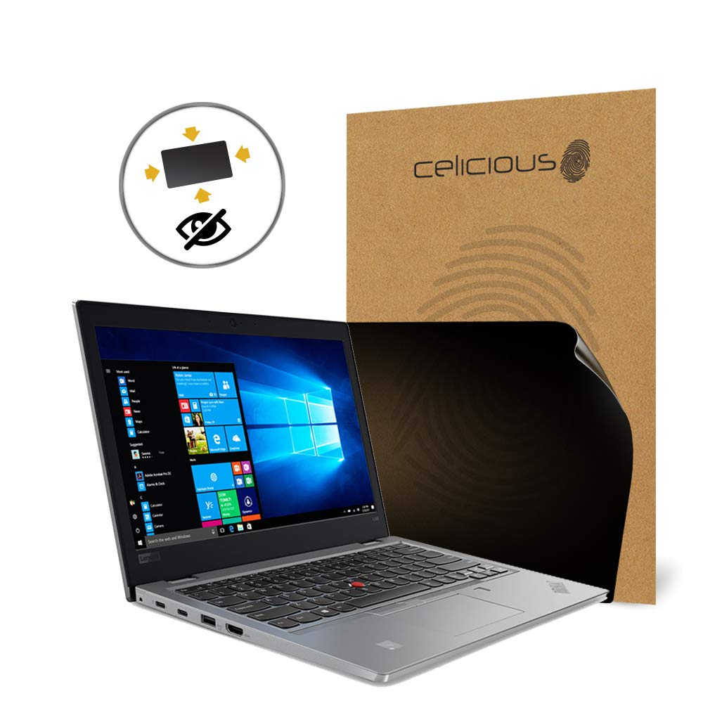 Celicious Privacy Plus 4-Way Anti-Spy Filter Screen Protector Film Compatible with Lenovo ThinkPad L390 Yoga