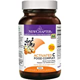 New Chapter Vitamin C - Activated C Food Complex for Immune Support + Organic Non-GMO Ingredients - 180 ct