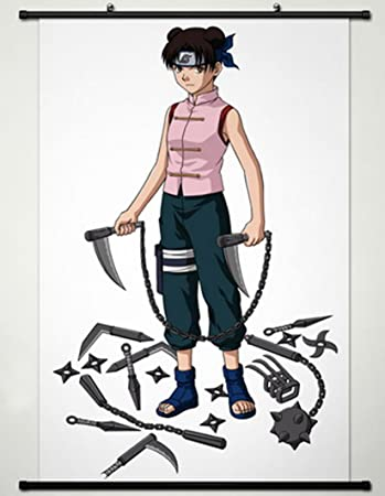 Rollposter Anime Cosplay Wall Scroll Poster Naruto Tenten Inches A334 60 X 90