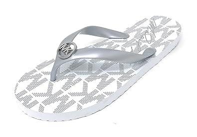 03870ef288c6 Michael Kors MK Rubber Flip Flops