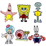 Spongebob Party Favors, 6pcs Cartoon Spongebob Honeycomb Centerpieces, Table Topper for Birthday Party Decoration…