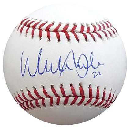 76bd7ae2eff Walker Buehler Autographed Official MLB Baseball Los Angeles Dodgers  Beckett BAS