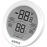 Houshome Sensor de umidade de temperatura interna Detector de umidade de temperatura ambiente Monitor Medidor Indicador…