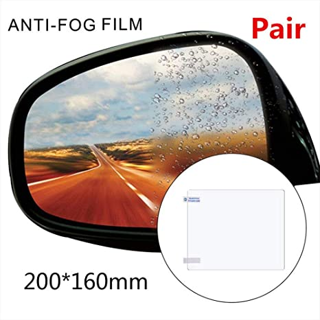 Intenst A Pair Car Rearview Mirror Waterproof Film Rain-Proof Film Side Window Glass Protector For Car Anti-Fog Film Kinds Variety Of Size Specifications For SUV Car greater gorgeous