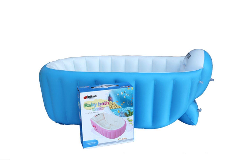Amazon.com : Portable Baby Bath Tub Inflatable Bathtub Travel ...