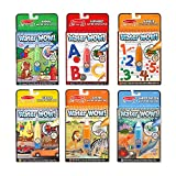 Melissa & Doug Water Wow! Reusable Colors with Pad (6 Pack)