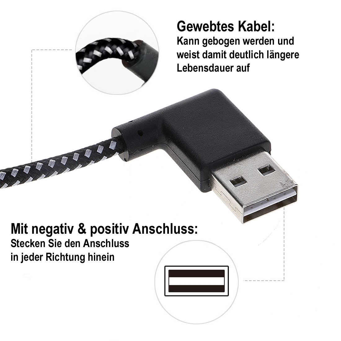 Handys & Telekommunikation Handy Kabel Magnetische Kabel Nylon Micro Usb Magnet Kabel Für Huawei P20 Lite Daten Ladegerät Kabel Für Xiaomi Samsung Iphone Handy Kabel Feine Verarbeitung
