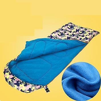 Hemaodi Cuatro estaciones acampar al aire libre saco de dormir cubierta Descanso para comer algodón de