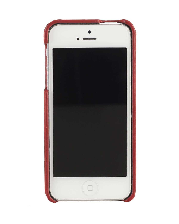 Polo Ralph Lauren iPhone 5 funda, Pebbled piel naranja OS: Amazon ...