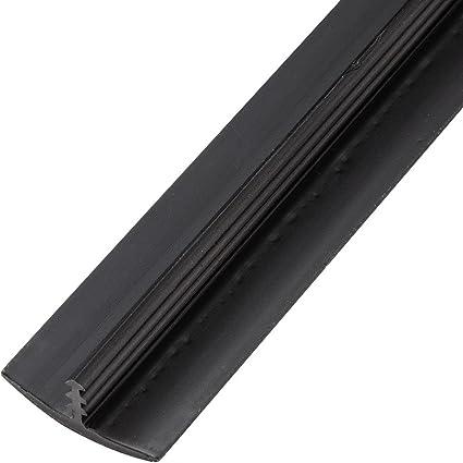 3/4'' X 100 ft Plastic T-Molding Black: Amazon co uk: DIY & Tools