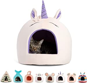 Best Friends by Sheri Novetly Pet Huts, 360 Degrees Security Coverage, Machine Washable, for Pets up to 15 lbs
