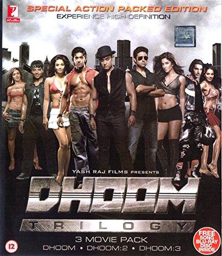 Dhoom Trilogy (2004-2013) Hindi 1080p 10bit Bluray x265 HEVC DDP 5.1 MSubs ~ TombDoc | 18 GB |