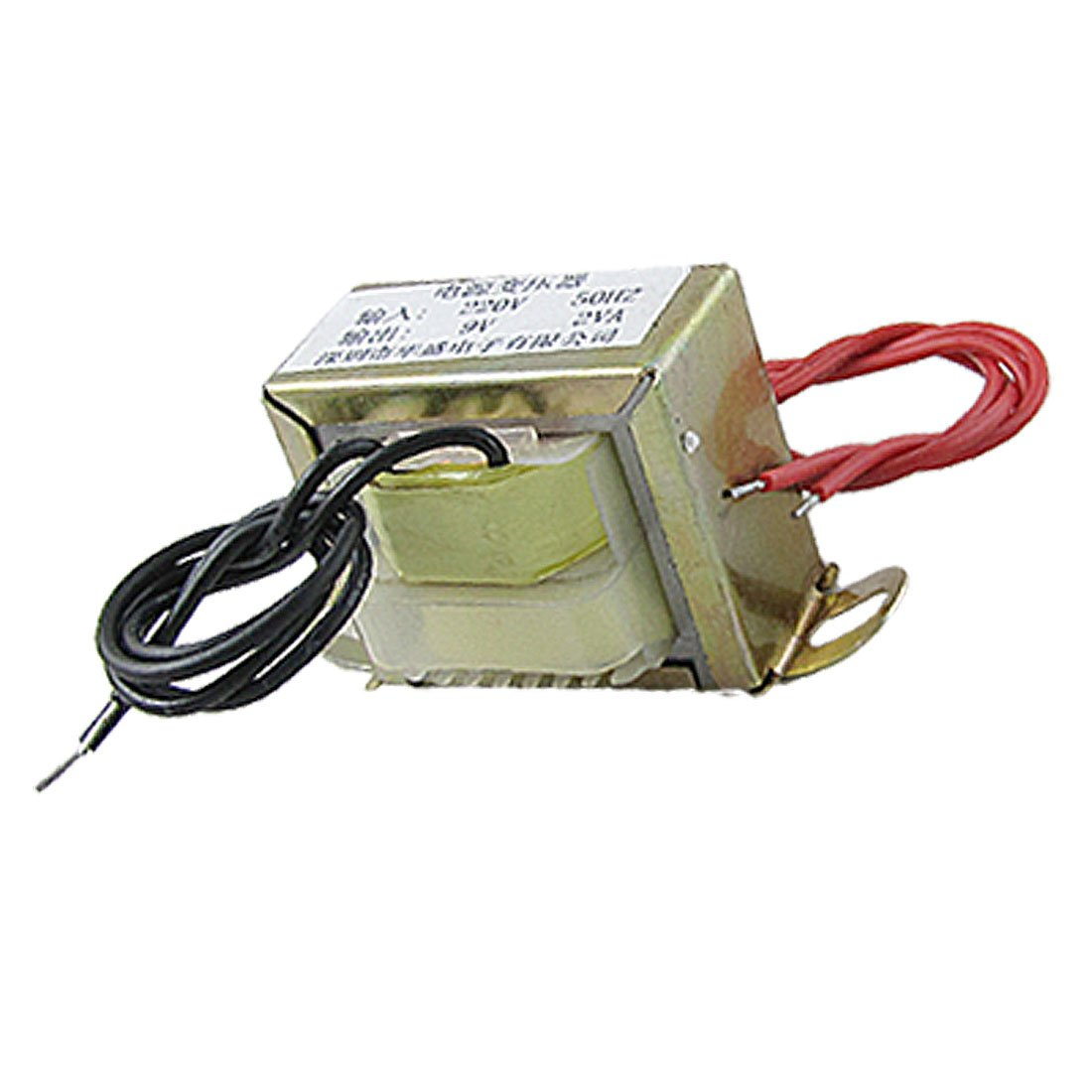 9V 2VA Output EI Core Vertical Mount Electric Power Transformer sourcingmap a11110300ux0116