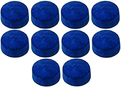 11 or 12mm 10 DON Leather Snooker Pool Billards Cue Tips 9