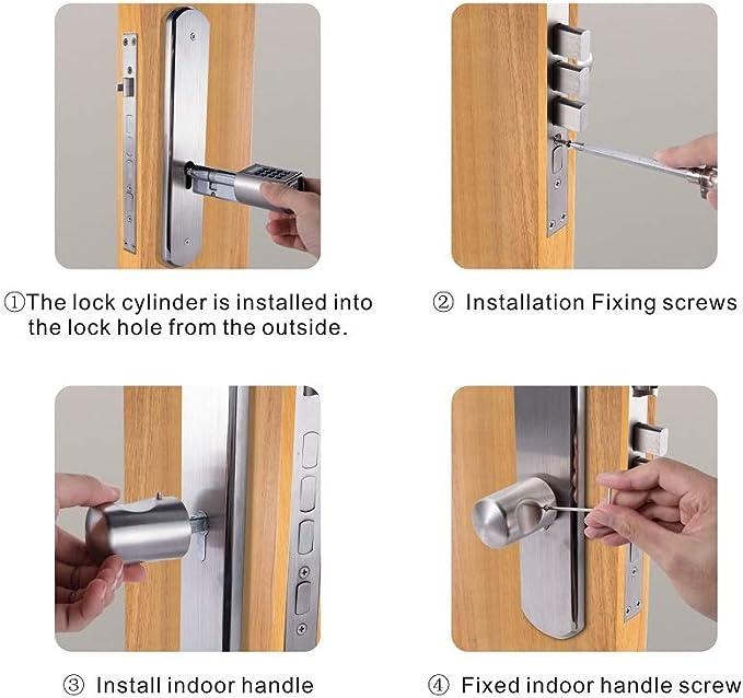 WE.LOCK - Cerradura inteligente para puerta con cerradura ...