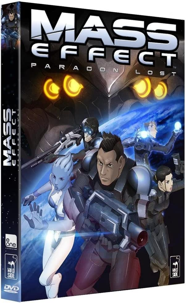 Mass Effect Paragon Lost Amazon Co Uk Dvd Blu Ray