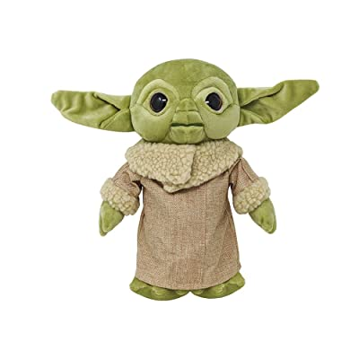 Hurricane Toys, LTD Yoda The Child Baby Yoda Plush Toy with Toy Bag: Toys & Games