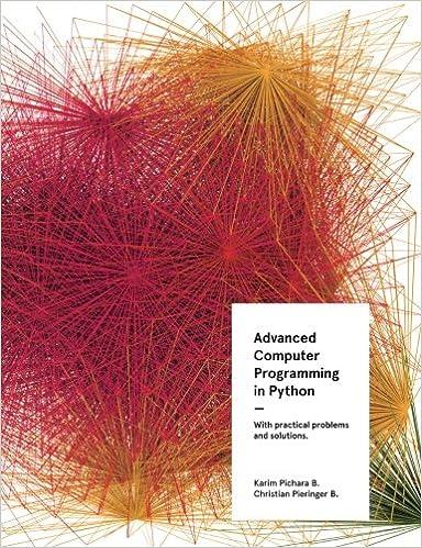 Advanced Computer Programming in Python: Karim Pichara ...
