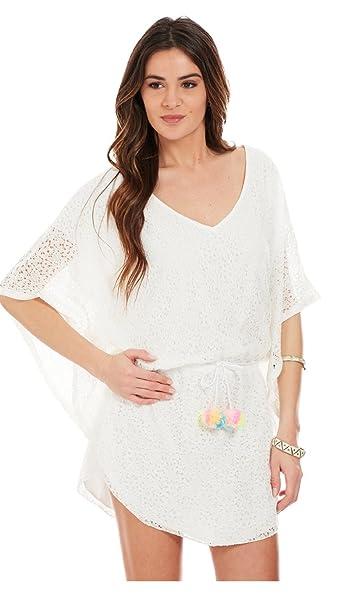 Gold & Silver Vestido Lola - Mujer - Unico - Blanco