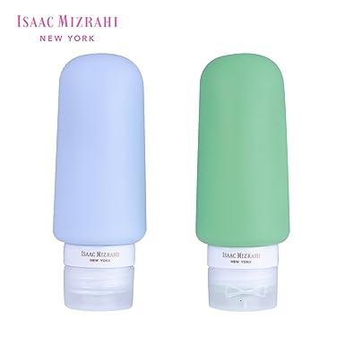 Amazoncom Isaac Mizrahi New York 2 Pack Silicone Bottle Travel