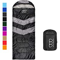 Gold Armour Sleeping Bag for Indoor and Outdoor Use - Great for Kids, Boys, Girls, Teens, Adults. Ultralight and Compact…