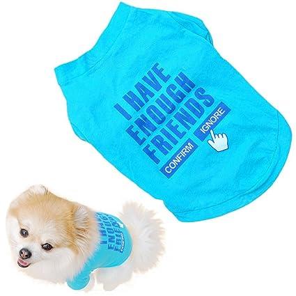 Buy Kwok Pet Puppy Clothes Summer Cotton Shirt Small Dog Cat Pet T